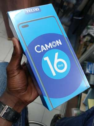 Tecno Camon 16 Pro brand new and sealed in a shop image 2