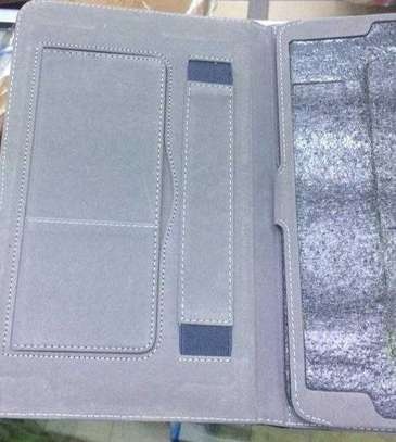 Samsung Logo Leather Book Cover Case With In-Pouch For Samsung Tab A 10.1 2019 image 12