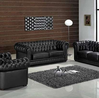 6 Seater Leather Couch