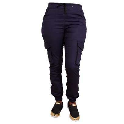 BSMO Fashion Stylish cargo pants navyblue image 1