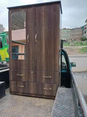 Wooden wardrobe image 1