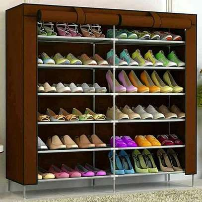 36 PAIRS PORTABLE SHOE RACK