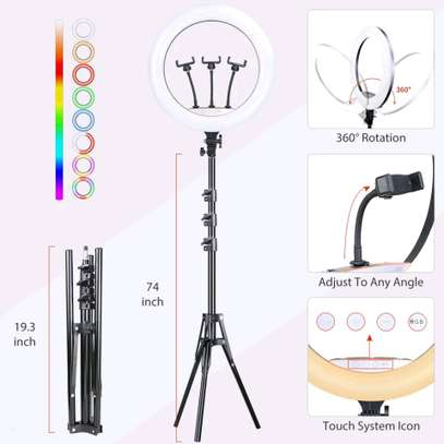 RL-18, Selfie Ring light and Photographic lamp - 18 inch image 5