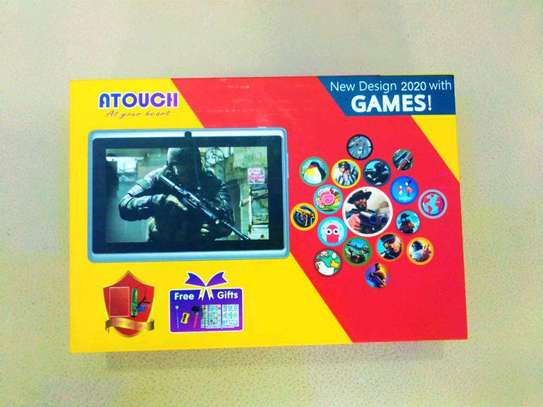 ATOUCH 7″ KIDS LEARNING TABLET,A32 ANDROID 6.1, 8GB, WI-FI, QUAD CORE, DUAL CAMERA image 1