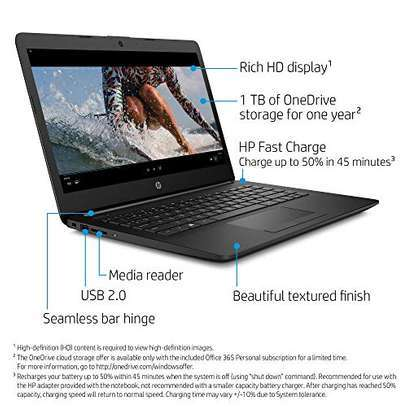 """Hp AMD  A4 4GB RAM /128 SSD  14""""inches image 1"""