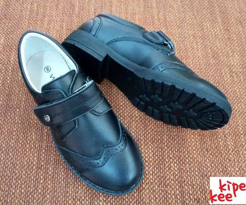 Genuine Leather School Shoes