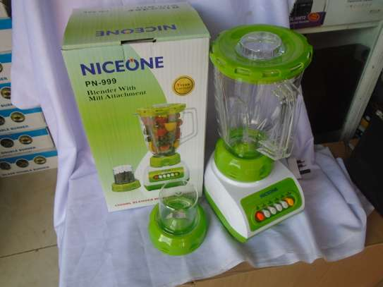 2 in 1 Blender with Grinding Machine 1.5L image 2
