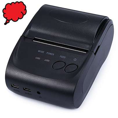 58mm Mini Portable Bluetooth POS Thermal Receipt Printer