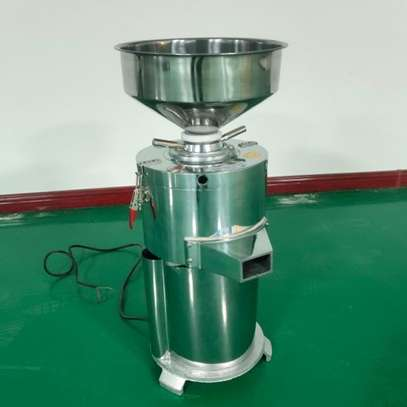 High quality 15kg/h Automatic industrial peanut butter making machine /sesame sauce grinder image 4