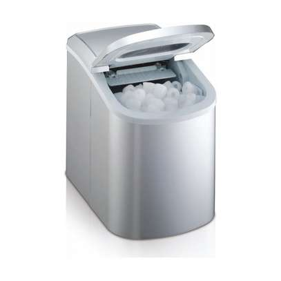 Household Automatic Small Ice Machine 12KG/24H Portable image 1