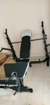 Multifunctional weight bench image 1