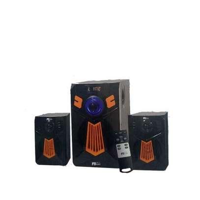 Fboss 2.1ch 8000Wattts MULTIMEDIA SUBWOOFER SPEAKER(Bluetooth,USB,SD Card,FM, image 1