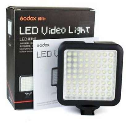 Godox LED64 Video Light 64 LED Lights Lightweight and Portable for Smartphone