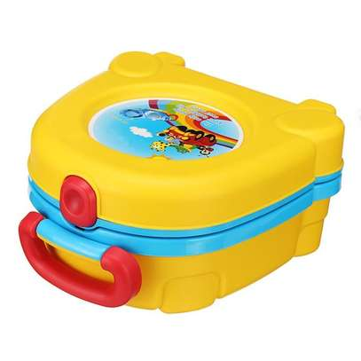 Portable Travel Potty Toilet Carry Seat Chair Toilet for Kids Baby Training image 1