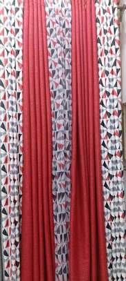 modern Finished luxury living room sheers and curtains image 1