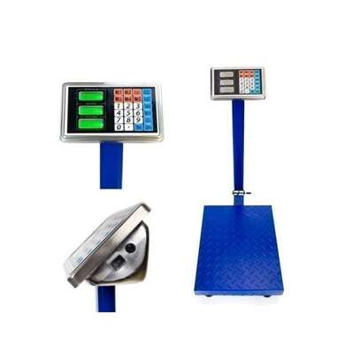 Digital Weighing Scale with Flat Bed 300kgs image 1
