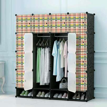 Executive Quality 4 Column Plastic Portable Wardrobes image 4