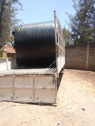 5000ltrs Cylindrical Water Tanks