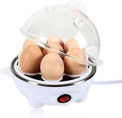 Generic 7 Eggs Capacity Boiler -White image 1