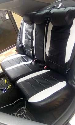 Pure Plain Car Seat Covers image 1