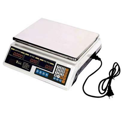 Digital Multi Function Food Kitchen Scale 30KG Stainless Steel LCD Scales image 1