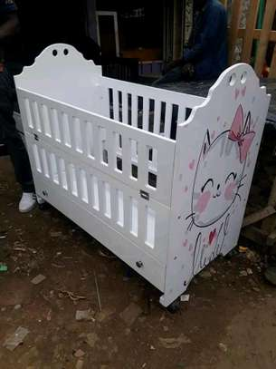 Cute Modern Quality Baby Cot image 1