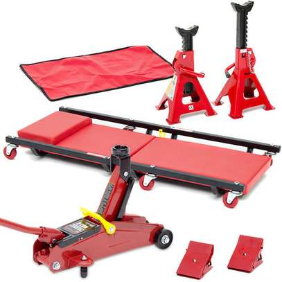 Hydraulic Jack From USA - Car Jack Hydraulic 2-ton & Stands