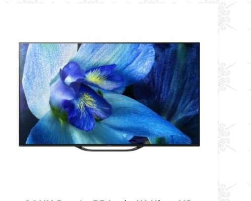 SONY Bravia 65 Inch 4K Ultra HD Smart OLED TV KD65A8G (2019 MODEL) image 1