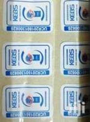 We Print Kenya Bureau of Standards KEBS STICKERS image 1