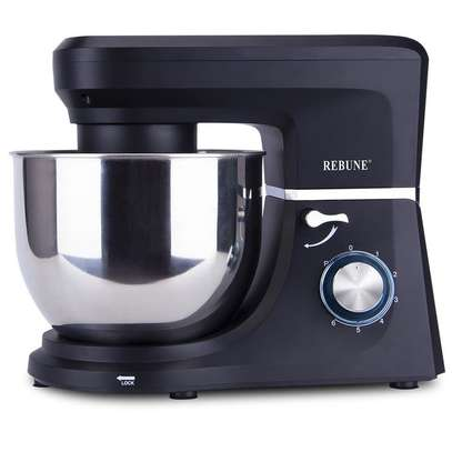 Rebune Stand Mixer, 7.0L Stainless Steel Bowl image 2
