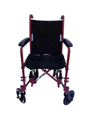 Lightweight folding travel wheelchair image 4