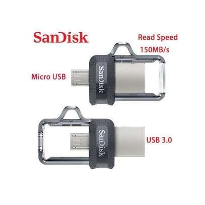Sandisk OTG Flash Disk 64GB【Updated Version】USB 3.0 Flash Drive image 1