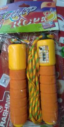 skipping rope with timer image 1