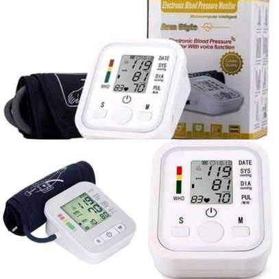 Automatic blood pressure monitor machines image 1