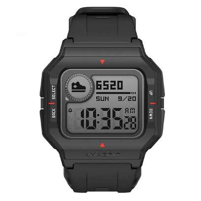 Original Amazfit NEO 28 Days Long Standby Always On Display Wristband 24 Hours Heart Rate Monitor 5ATM Waterproof Smart Watch image 2