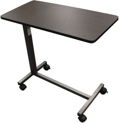 Adjustable Hospital Overbed Table image 2