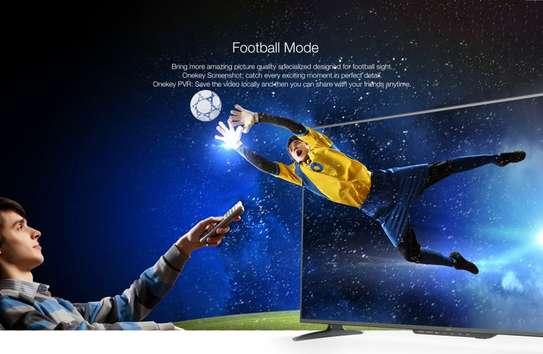 Syinix 43 smart android frameless  full hd tv image 1
