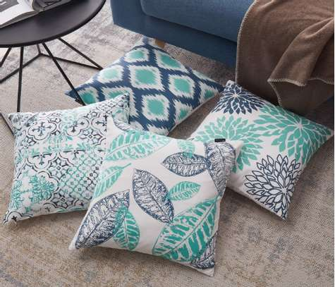 Decorative Unique Throw Pillow Case Cushion Covers a set of 4 pieces at Ksh. 3200 image 6