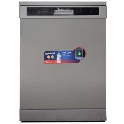 Ramtons RW/300, 12 Settings Dishwasher Machine- Mar Silver image 1
