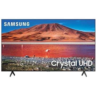 Samsung 55 inches Smart UHD-4K Frameless Digital TVs 65TU8000 image 1