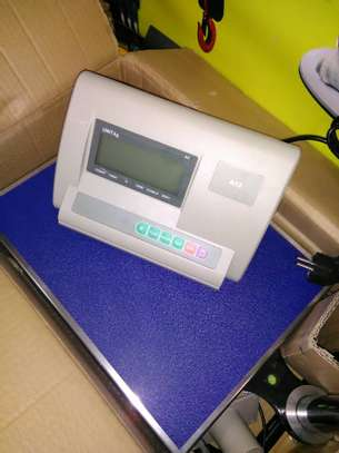 A12E Platform Scale with Bluetooth Stainless Steel image 2
