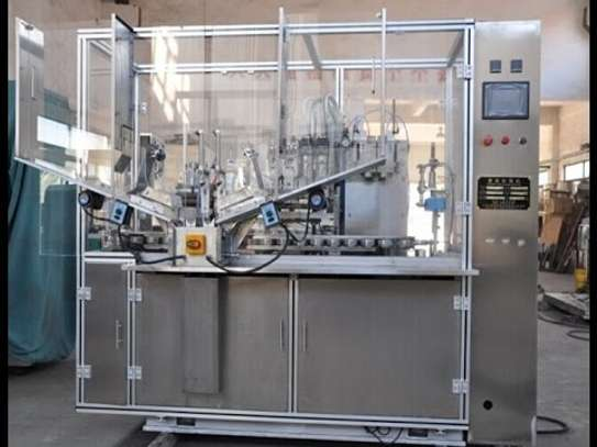 Automatic Tube Filling and Sealing Machine image 1