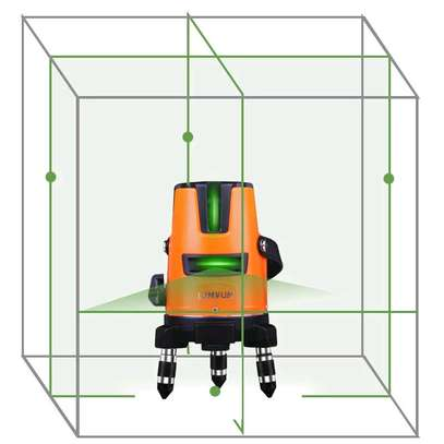 Laser level Digital  4 line image 1