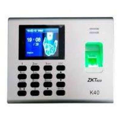Biometric time attendance reader k40 image 1