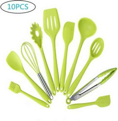 Silicon Serving Spoons image 1