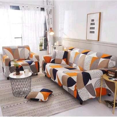 Generic Sofa Elastic Stretch Sofa Cover 7&5 Seater(3,2,1,1)(3,1,1) image 1