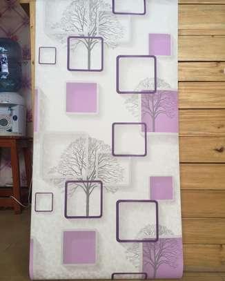 Home decor plain wall paper image 7