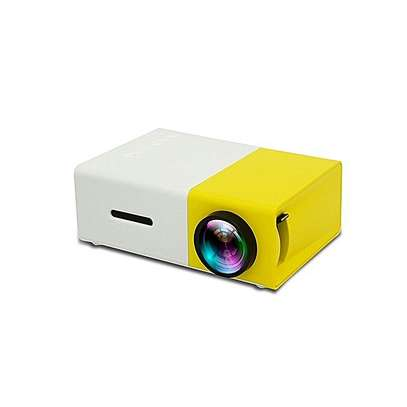 Portable Mini Home Theater LED Projector - White Yellow By Generic Have one to sell?  (2)   Key Features
