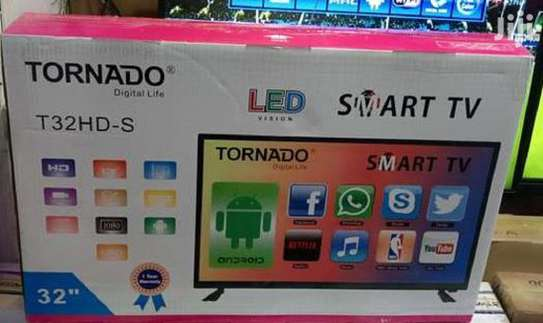 Tornado 32 inch smart android led tv image 1