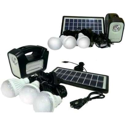 GDLITE Home Solar Lighting and Phone Charging Kit Gd-3plus image 1